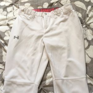 Under Armour women's softball pants like new